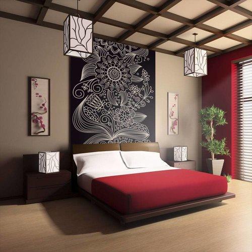 Fotobehang - Bloem motief - ornament