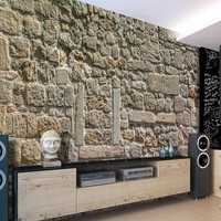 Fotobehang - Wall From Stones