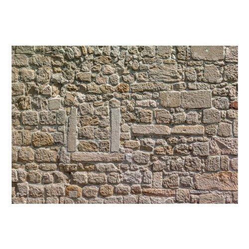 Fotobehang - Muur van stenen