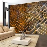 Fotobehang - Rusty maze