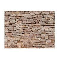 Fotobehang - Natuursteen muur