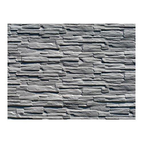 Fotobehang - Grijze stenen muur