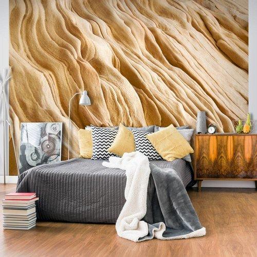 Fotobehang - Golvende zandstenen vormen