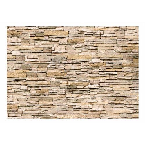 Fotobehang - Decoratieve Stenen muur