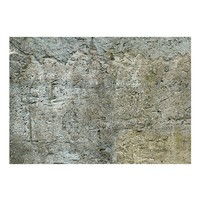 Fotobehang - Barrière van steen , grijs