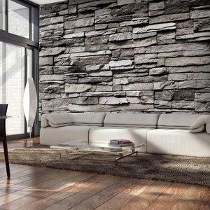 Fotobehang - Granieten muur