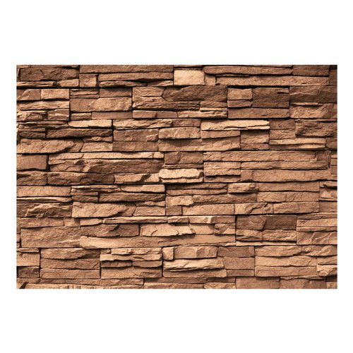 Fotobehang - Chocolade kleurige Stenen