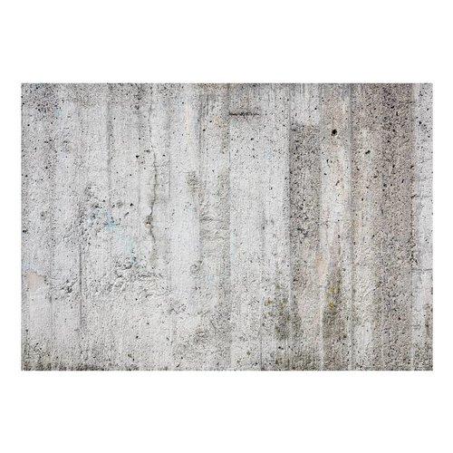Fotobehang - Betonnen muur - Grijs