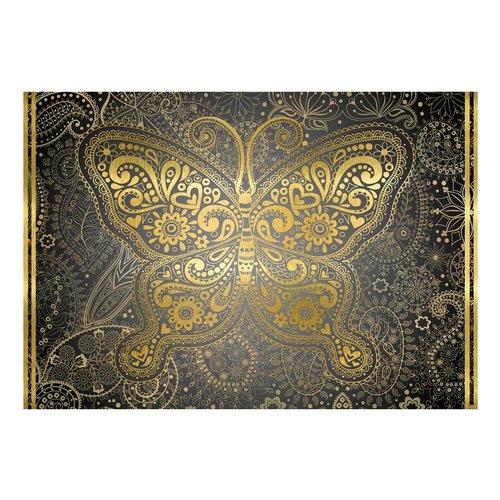 Fotobehang - Gouden vlinder
