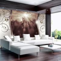 Fotobehang - Stralen van licht