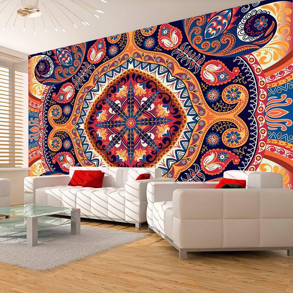 Fotobehang - Exotische mozaiek