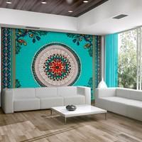 Fotobehang - Folk inspiratie, Mandala