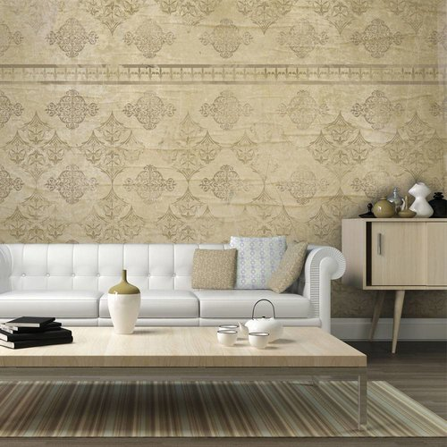 Fotobehang - Faded barok behang