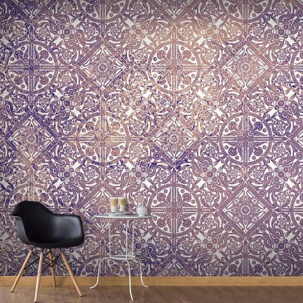 Fotobehang - Magisch lila , paars