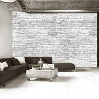 Fotobehang - White Brick