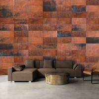 Fotobehang - Stenen puzzels - muur