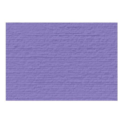 Fotobehang - Muur in het paars