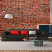 Fotobehang - design- baksteen