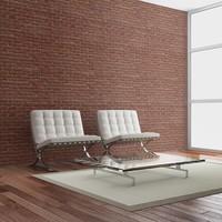 Fotobehang - Brick - simple design