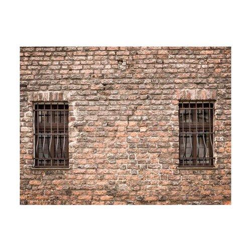 Fotobehang - Gevangenis muur