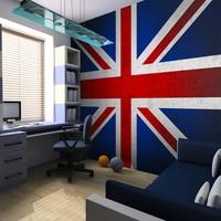 Fotobehang - Union Jack