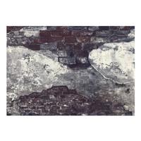 Fotobehang - Donkere steeg , zwart wit