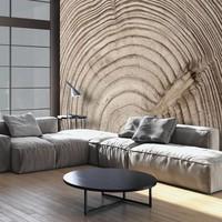 Fotobehang - Wood grain