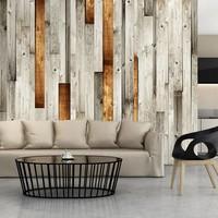 Fotobehang - Wooden theme