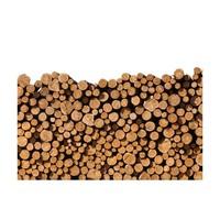 Fotobehang - Haard hout