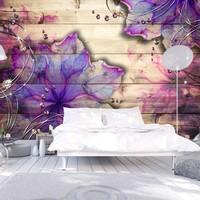 Fotobehang - Purple Memory