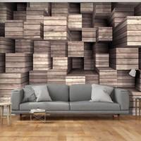 Fotobehang - Wooden Finesse