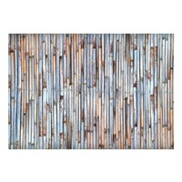 Fotobehang - Bamboe schutting