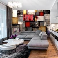 Fotobehang - Colorful Home