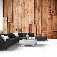 Fotobehang - Wooden Fantasy