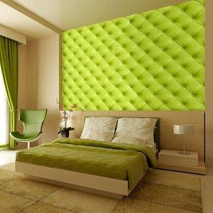 Fotobehang - Slaapkamer - Groen