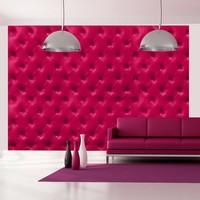 Fotobehang - Roze ruiten