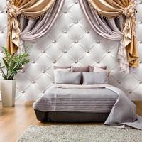 Fotobehang - Gordijn van luxe