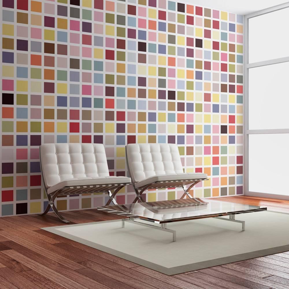Fotobehang - Mozaiek van kleuren
