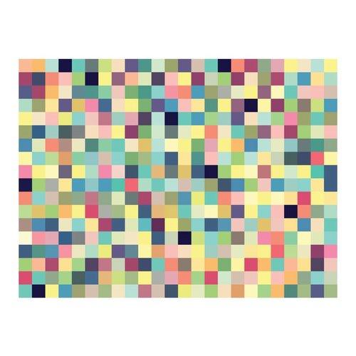 Fotobehang - Gekleurde blokjes