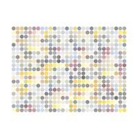 Fotobehang - Colored polka dots