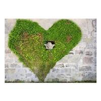 Fotobehang - Engel in een hart