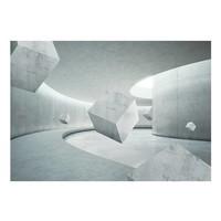 Fotobehang - Geometrie van de kubus