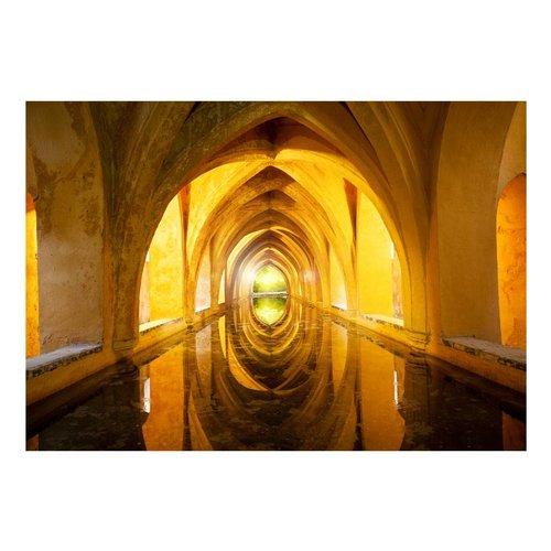 Fotobehang - The Golden Corridor