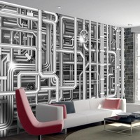 Fotobehang - Urban Maze