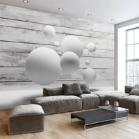 Fotobehang - Witte ballen
