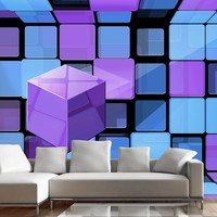 Fotobehang - Rubik's cube: variation