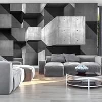 Fotobehang -Wolkenkrabbers van beton
