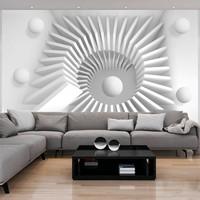 Fotobehang - White jigsaw