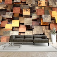 Fotobehang - Copper Roof