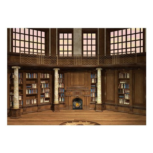 Fotobehang - Bibliotheek van je dromen
